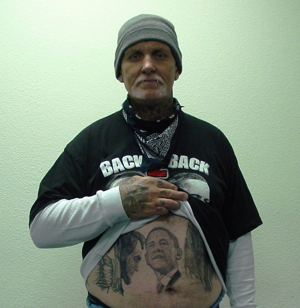 Re tattoos for Does obama have a tattoo