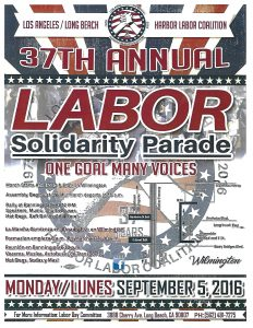 37TH Annual Labor Solidarity Parade @ Banning Park | Los Angeles | California | United States